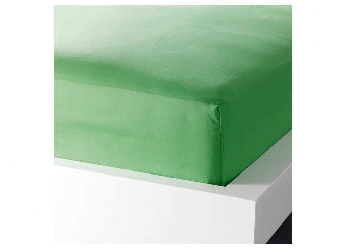 Ikea DVALA Fitted sheet (green) gallery 1